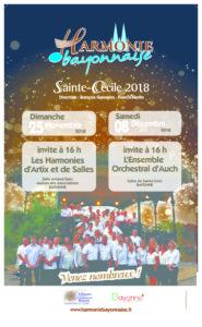 Concerts Bayonne Ste-Cécile 2018